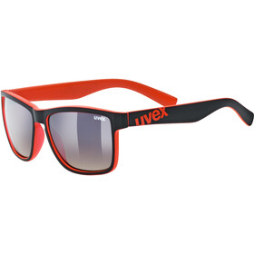 UVEX LGL 39 Glasses black mat red/brown dégradé